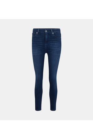 7 For All Mankind Jean Aubrey skinny stretch taille haute