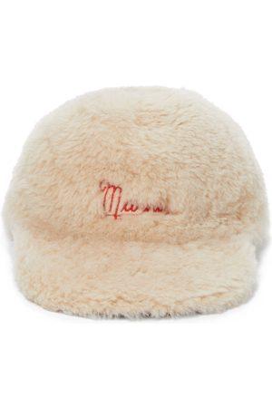 Marni Casquette en peau de mouton
