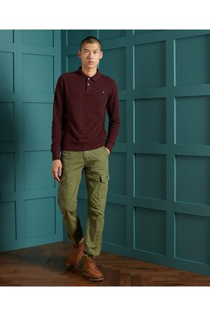 Superdry Homme Polos - Polo classique en coton biologique piqué
