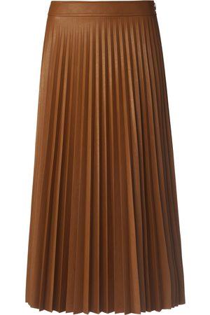St. Emile La jupe plissée longueur midi