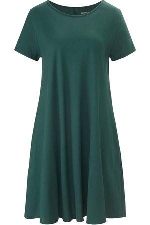 Green Cotton La robe jersey 100% coton