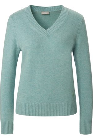 include Le pull 100% cachemire turquoise