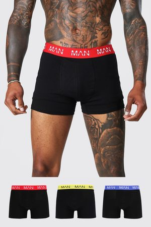 Boohoo 3 Pack Man Dash Jersey Trunk Homme