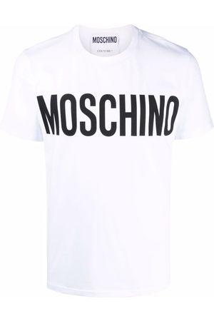 Moschino Homme Débardeurs - T-shirt à logo imprimé