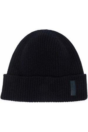 Armani Homme Bonnets - Bonnet à patch logo