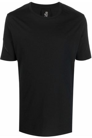 Thom Krom Homme Manches courtes - Contrast-stitch short-sleeve T-shirt