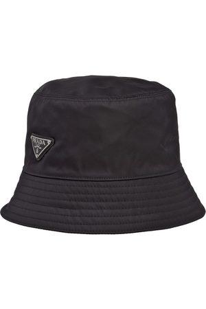 Prada Re-Nylon logo bucket hat