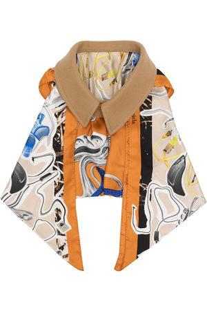 Maison Margiela Femme Écharpes & Foulards - Oversize collar draped scarf