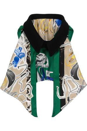 Maison Margiela Femme Écharpes & Foulards - Oversized collar draped scarf
