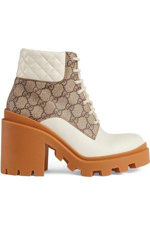Gucci Femme Bottines - Bottines à motif GG