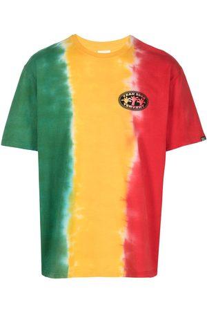 This Is Never That Homme Débardeurs - Tie-dye stripe T-shirt