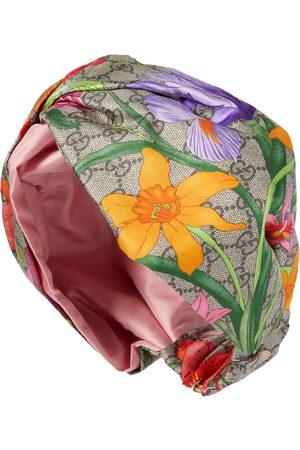 Gucci Bandeau GG Flora imprimé en soie