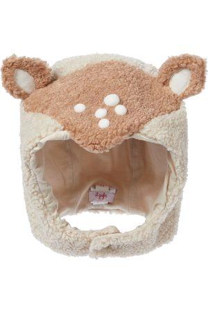 Il gufo Chapeau en faux mouton retourné pour bébé