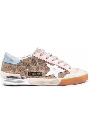 Golden Goose Leopard-print Super-Star sneakers