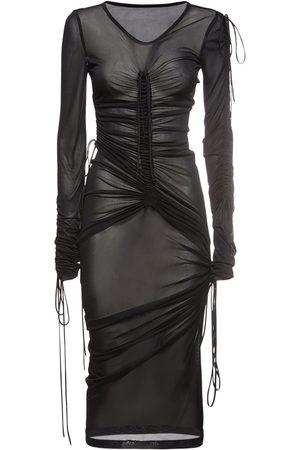 Dolce & Gabbana Femme Robes midi - Robe Midi En Jersey De Viscose Mélangée