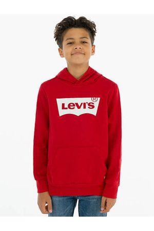 Levi's Sweat à capuche Batwing Enfant / Red/White