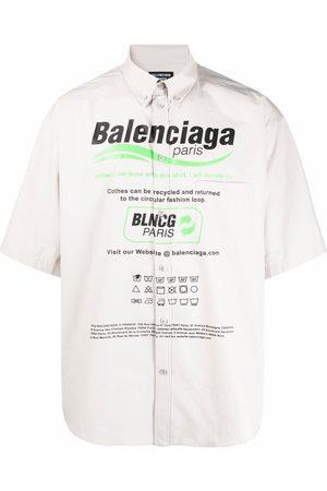 Balenciaga S/S Large Fit Shirt