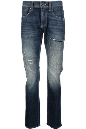 Armani Ripped-detail jeans