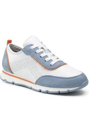 Jana Sneakers - 8-23614-26 White/Blue 180