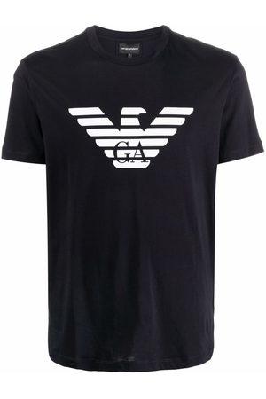 Emporio Armani Homme Débardeurs - T-shirt à logo Eagle
