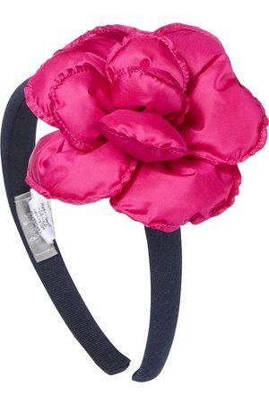 Il gufo Serre-tête floral en coton extensible