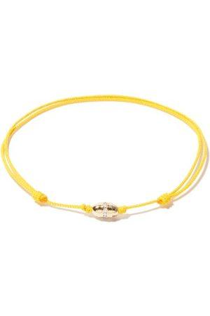 LUIS MORAIS Bracelet cordon en 14 carats et diamants