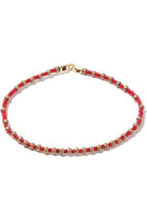 LUIS MORAIS Homme Bracelets - Bracelet en hématite, perles et 14 carats