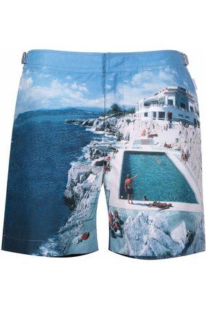 Orlebar Brown Bulldog Roc Pool-print swim shorts