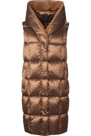 Schneiders Femme Vestes & Gilets sans manches - Le gilet long doudoune avec poches zippées