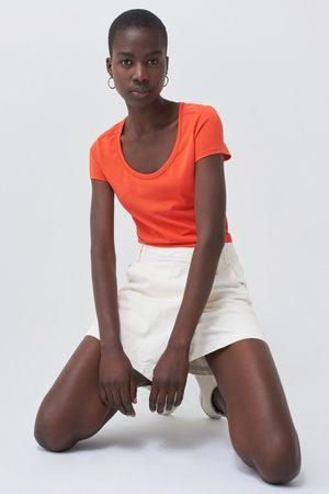 Salsa Femme Manches courtes - T-shirt timeless décolleté en U