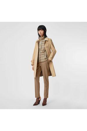 Burberry Homme Manteaux - Paletot réversible en coton et Vintage check, Size: 14, Yellow