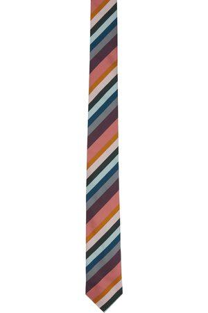 Paul Smith Cravate Artist multicolore à rayures