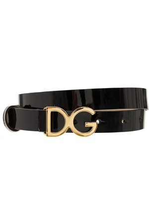 Dolce & Gabbana Ceinture En Cuir Avec Boucle Logo