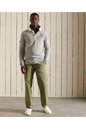 Superdry Homme Polos - Polo de Rugby