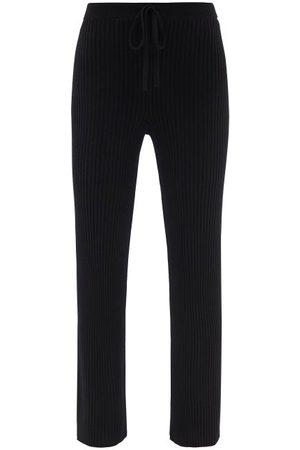 MARQUES'ALMEIDA Femme Pantalons classiques - Pantalon en laine mérinos côtelée