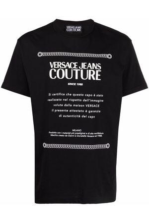 VERSACE Homme Débardeurs - T-shirt à logo imprimé