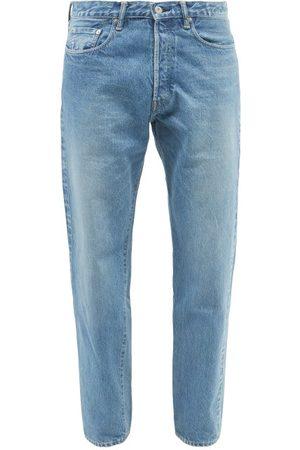 KURO Homme Coupe droite - Jean droit taille haute Futura Wash 002