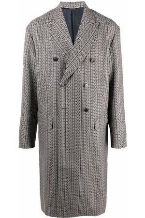 Valentino Manteau croisé à motif pied-de-poule