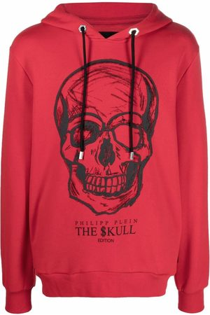 Philipp Plein Hoodie Skull à imprimé graphique