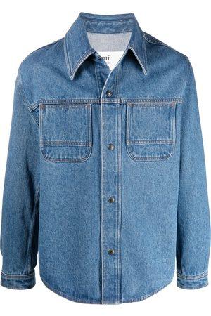Ami Chemise en jean à boutons pression