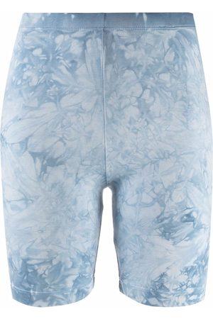 Cotton Citizen Tie dye-print cycle shorts