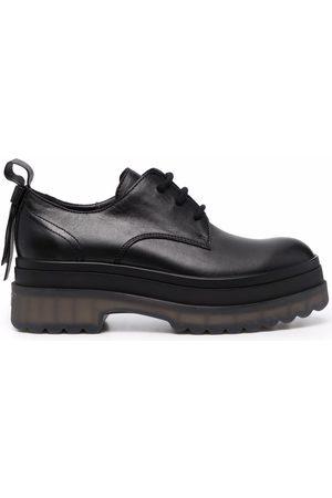 RED(V) Femme Chaussures à lacets - Transparent-sole lace-up shoes
