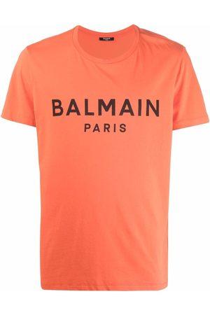 Balmain T-shirt à logo imprimé