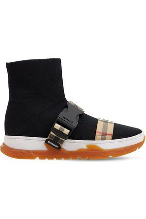 BURBERRY Sneakers À Enfiler En Maille