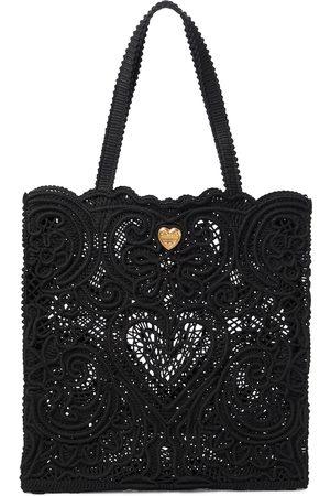 Dolce & Gabbana Cabas Beatrice en dentelle