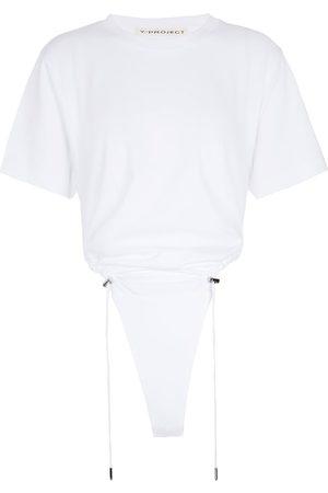 Y / PROJECT Body froncé en coton