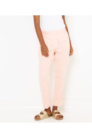 Camaïeu Pantalon chino femme lin