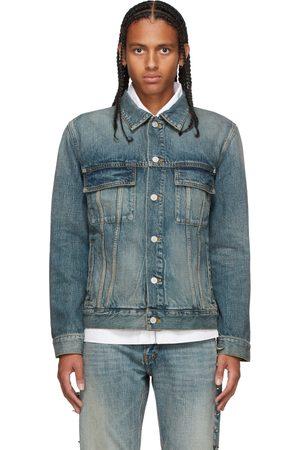 Givenchy Homme Vestes en jean - Blouson bleu en denim