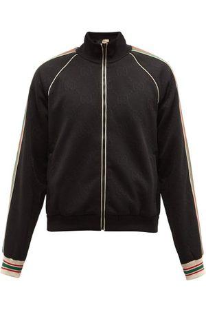 Gucci Homme Vestes - Veste de jogging en jersey à bande Web
