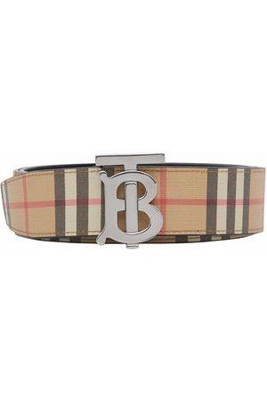 Burberry Homme Ceintures - Monogram-buckle belt